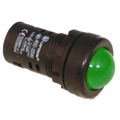 AD22-22AS 24V AC/DC - Green