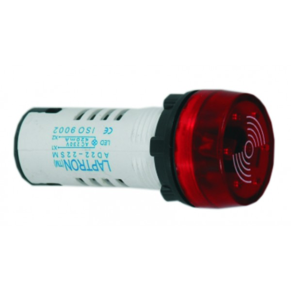 AD22-22SM 240V AC - Red