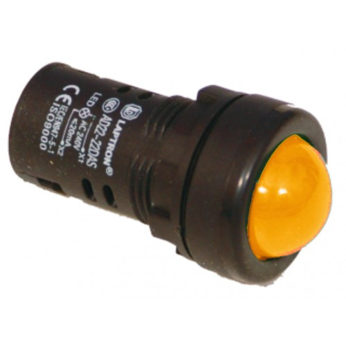 AD22-22AS 110V AC/DC - Amber